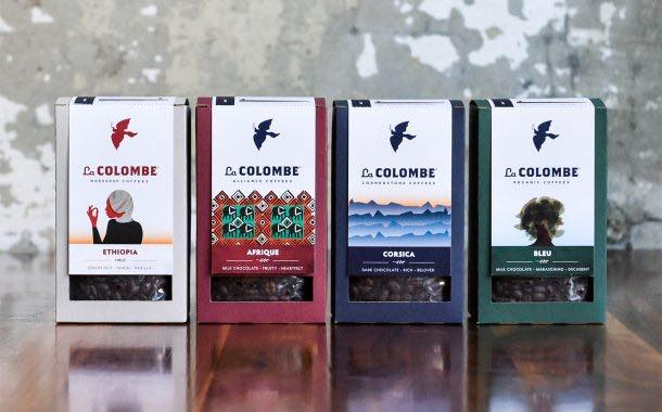 US coffee roaster La Colombe unveils stronger, greener boxes