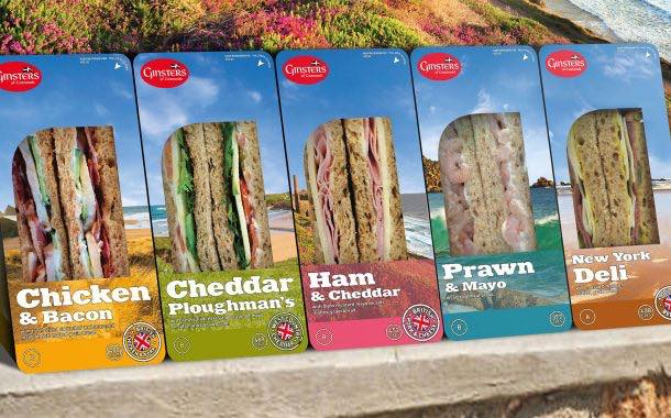 Ginsters redesigns sandwiches with greater emphasis on quality