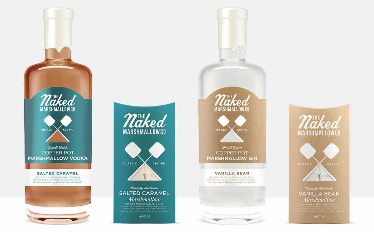 Naked Marshmallow Co debuts new marshmallow-infused spirits