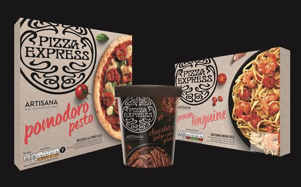 PizzaExpress launches first range of frozen pizzas and ready meals