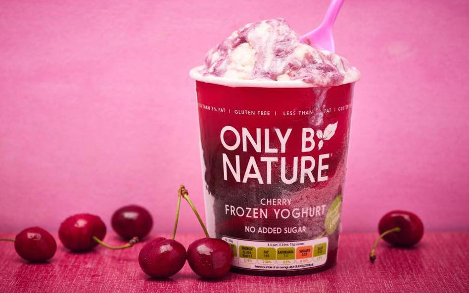 Low-sugar frozen yogurt brand Only By Nature debuts first ice cream