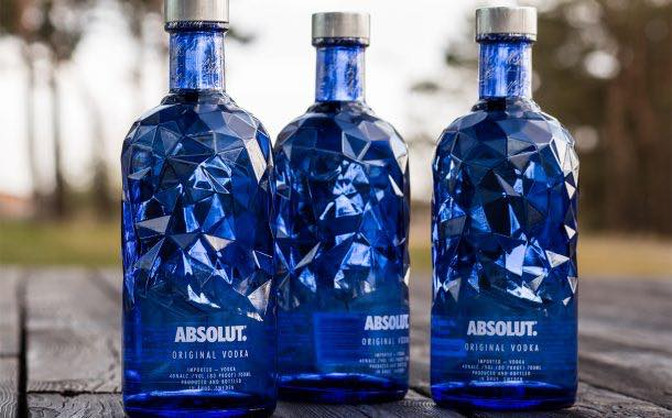Absolut and Ardagh team up to create uniquely cut vodka bottle