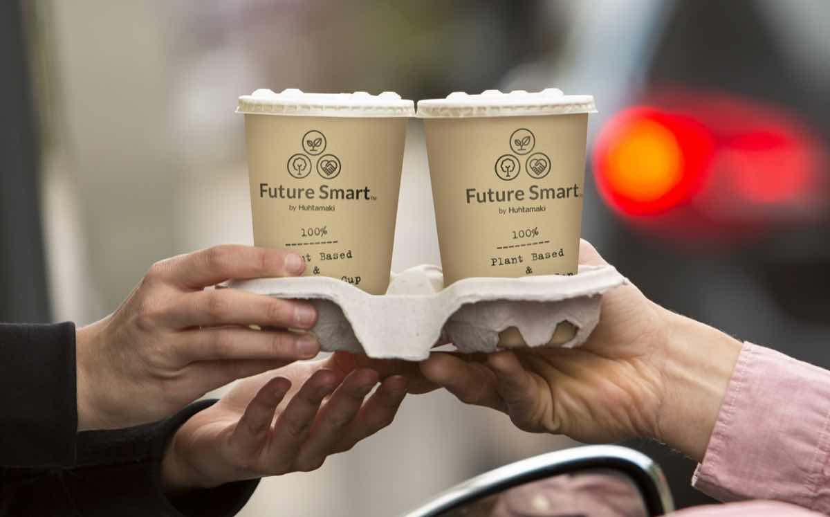 Huhtamaki introduces company's first fully renewable paper cup