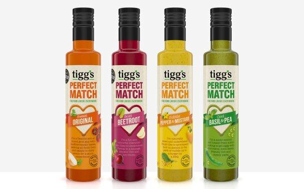 Dressings brand Tigg's adopts fresh packaging design