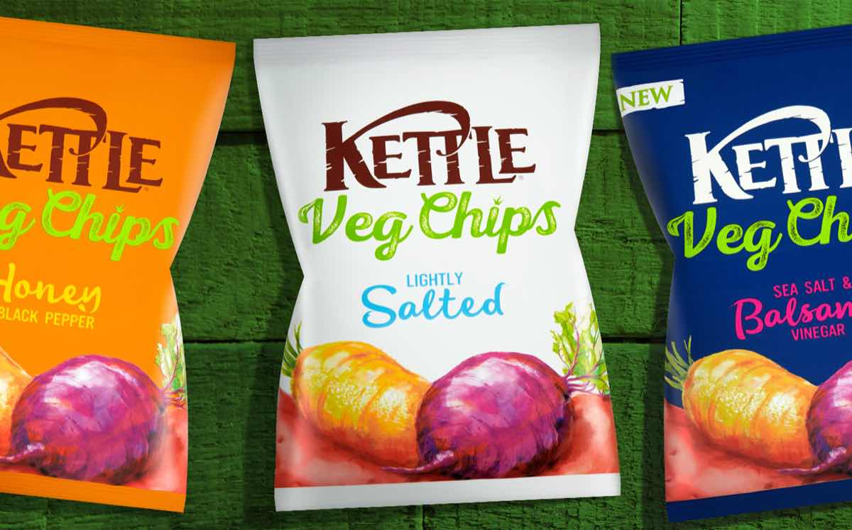 Kettle Foods Launches New Range Of Mixed Vegetable Chips