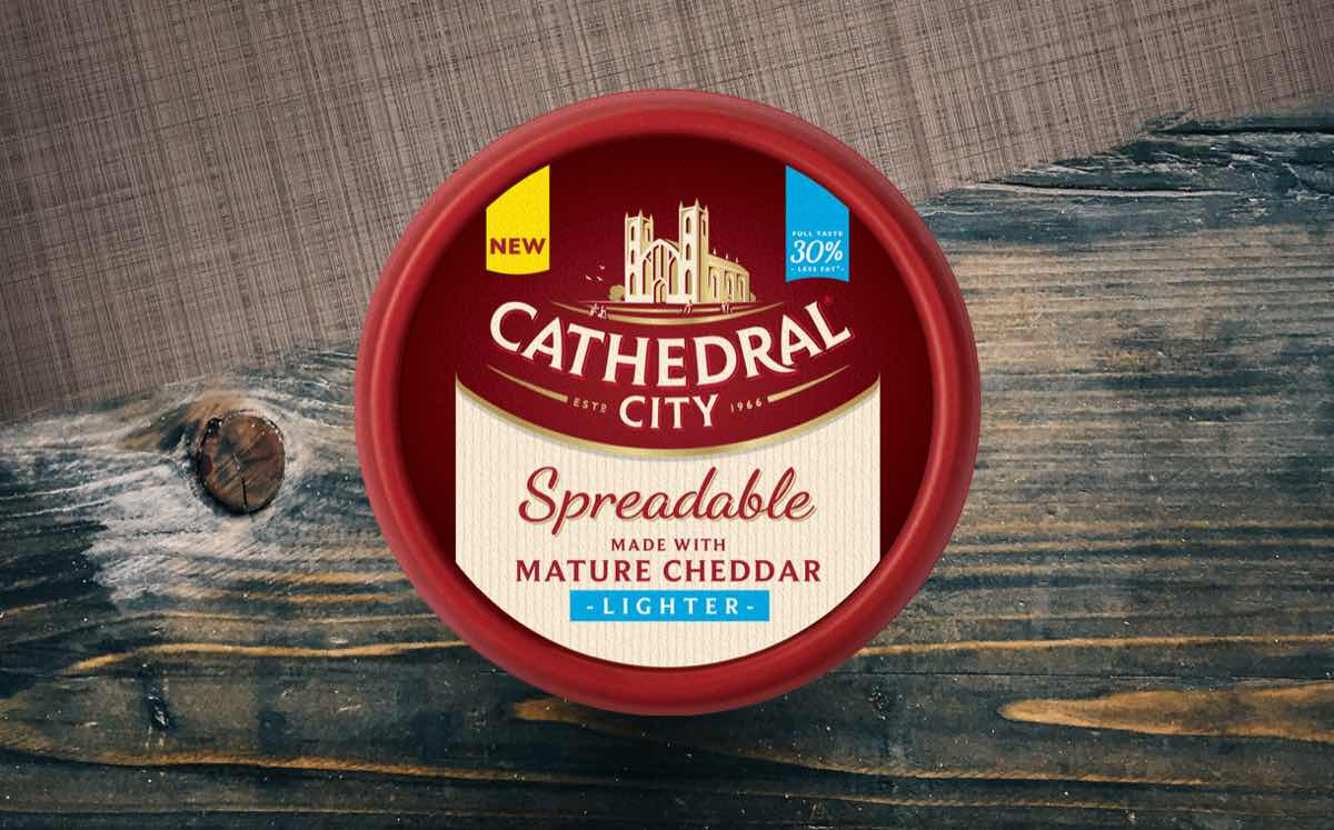 Cathedral City Spreadables adds lighter version with 30% less fat