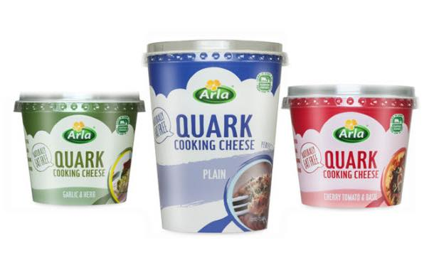 Arla unveils fat-free quark to tap into 'relatively unknown' segment