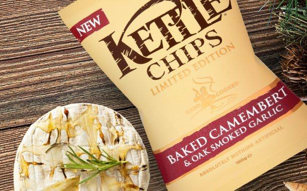Kettle Chips launches seasonal camembert and garlic flavour