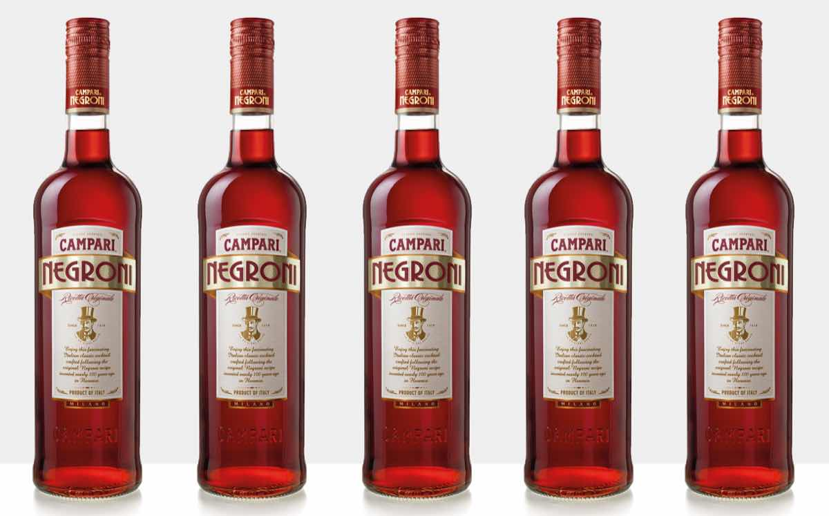 Campari launches ready-to-drink version of Negroni cocktail in UK