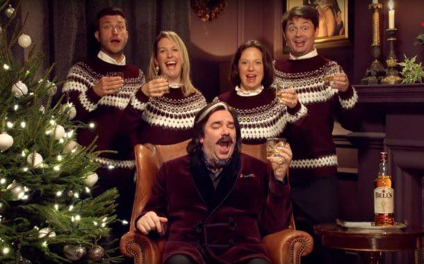 Bell's whisky rolls out £1.5m ATL campaign for Christmas