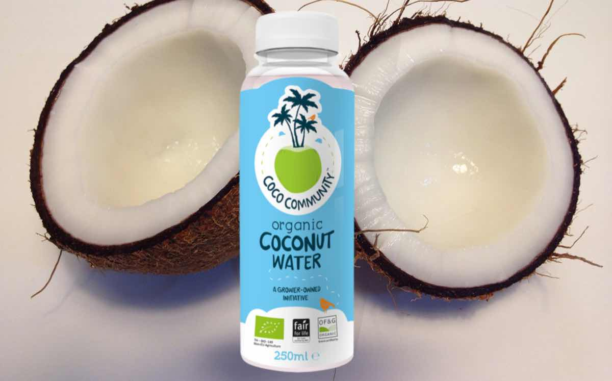 Socially conscious new coconut water brand to arrive in UK