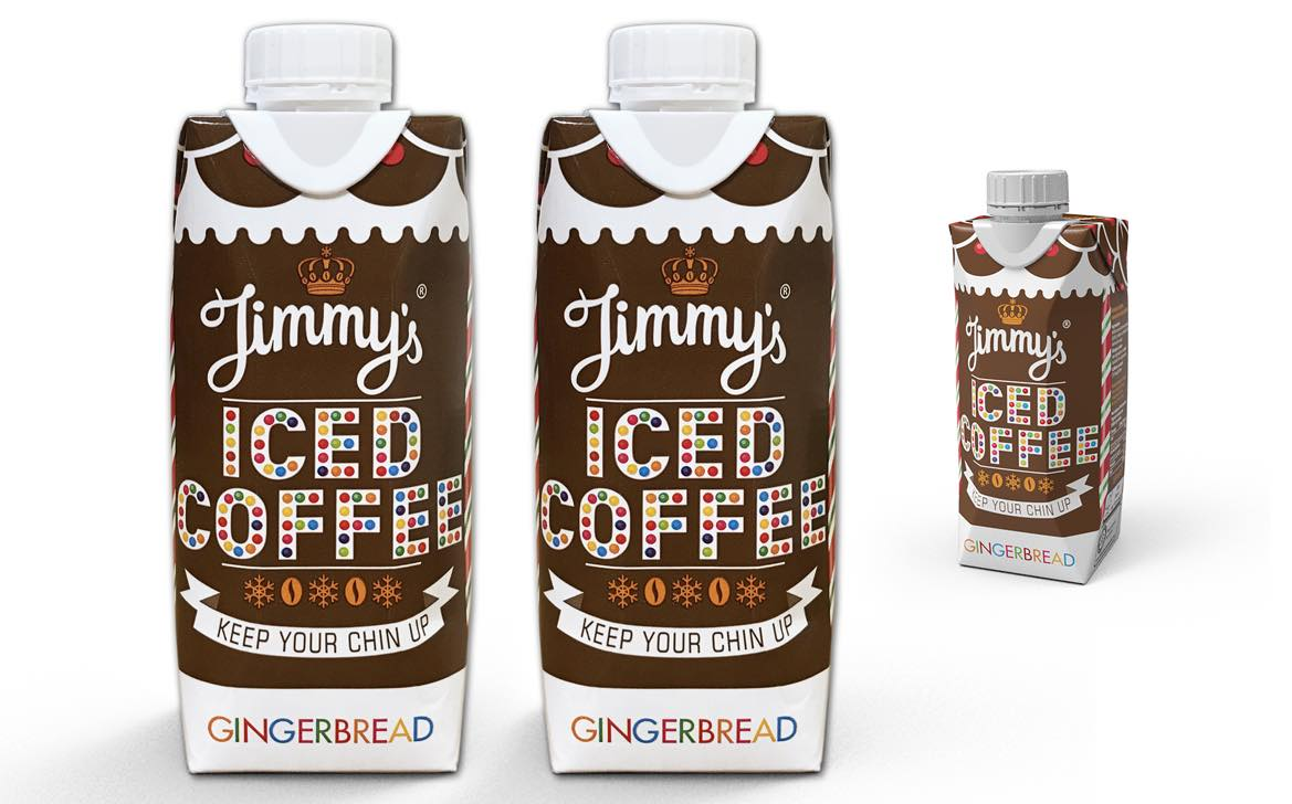 Iced Coffee Brand Jimmy S Launches Festive Gingerbread