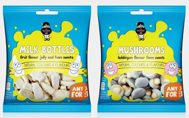 Bonds of London brings in new pack design for bagged sweets
