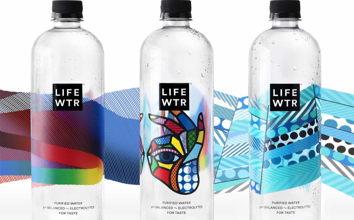 pepsico launches new premium bottled water range featuring label
