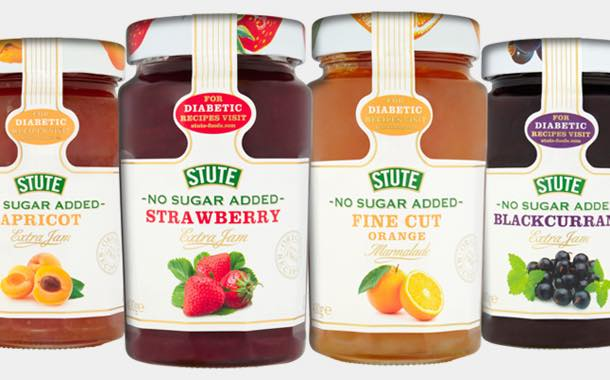 Stute Foods unveils rebrand of no-added-sugar conserves