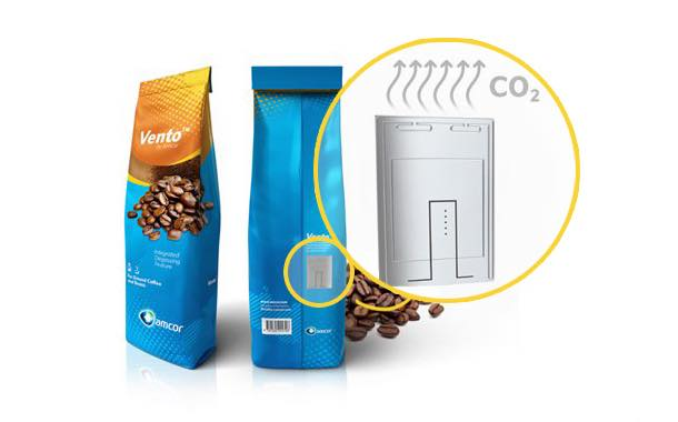 Amcor develops coffee packaging with in-built venting control