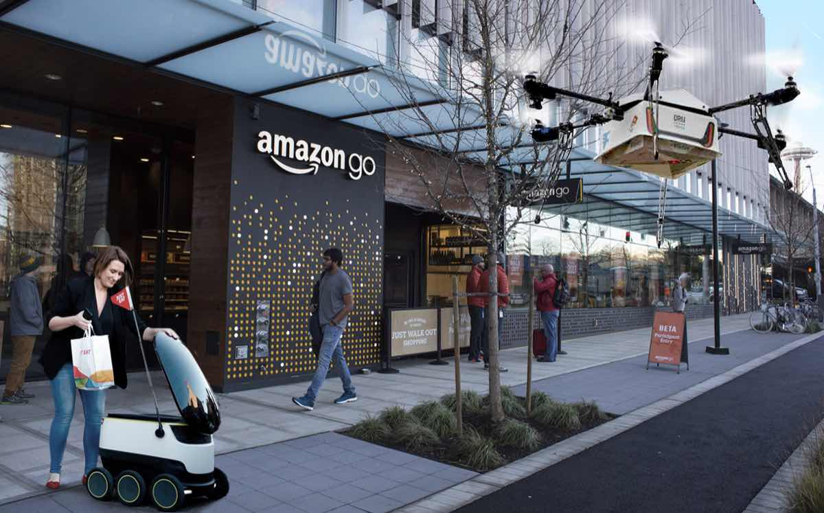 The future of food retailing and delivery in the 4th industrial age