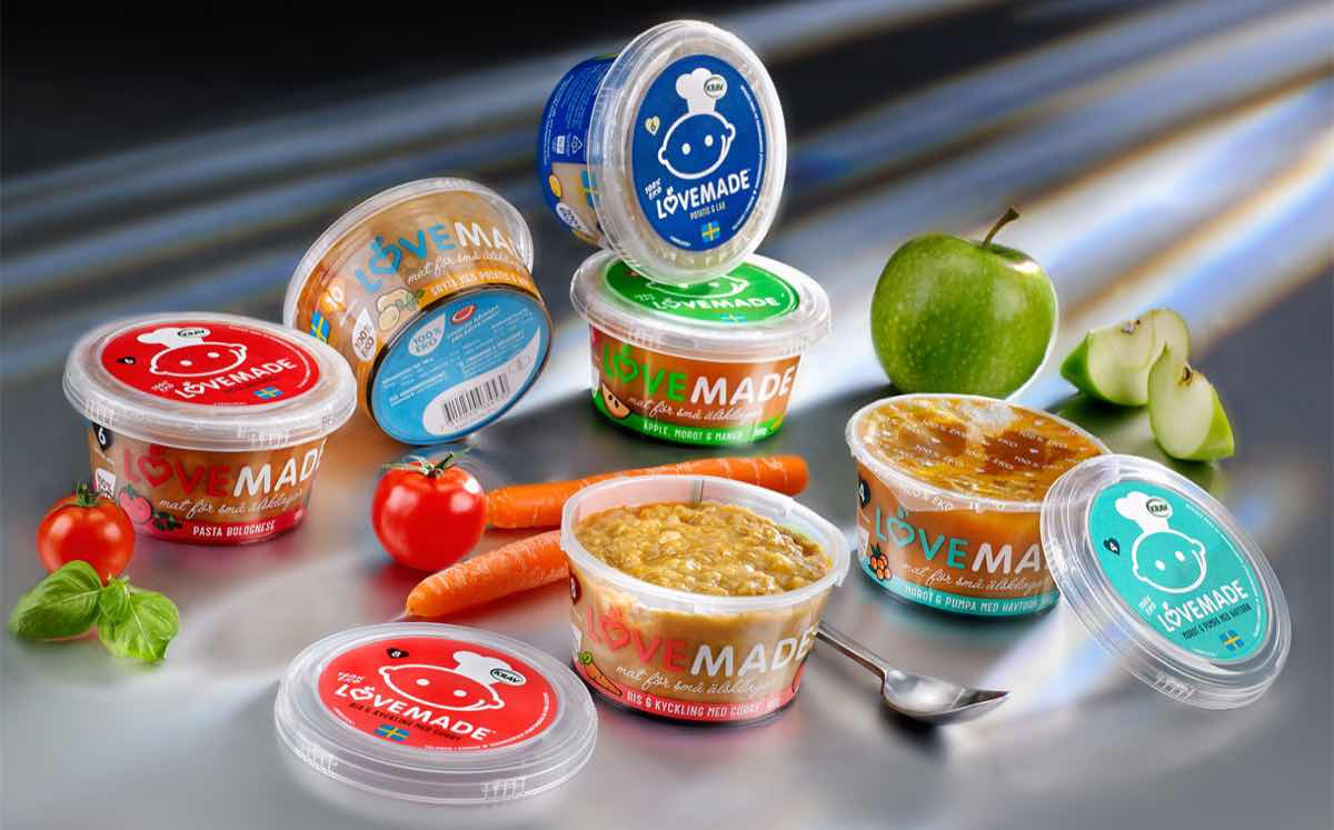 Lovemade Launches Range Of Organic Baby Food Pots In