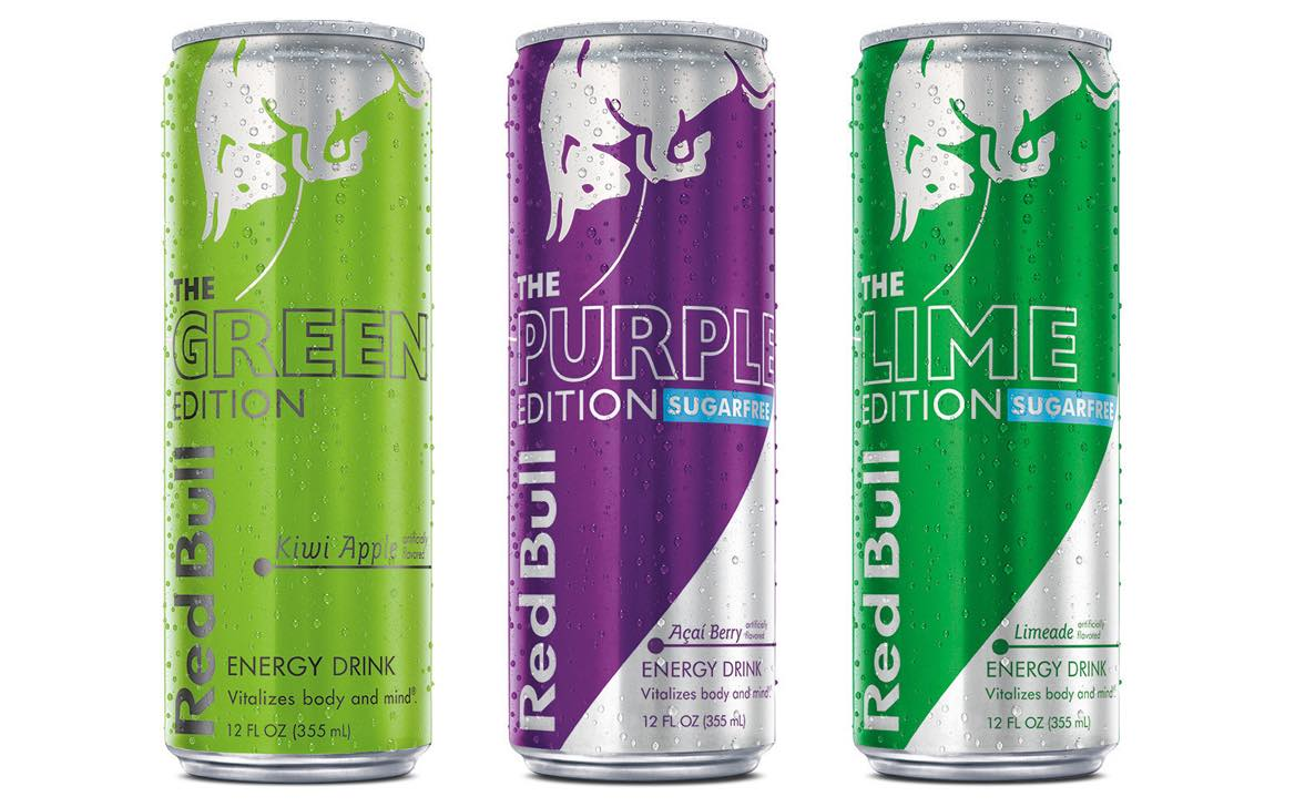 Red Bull expands range of Editions with three new flavours