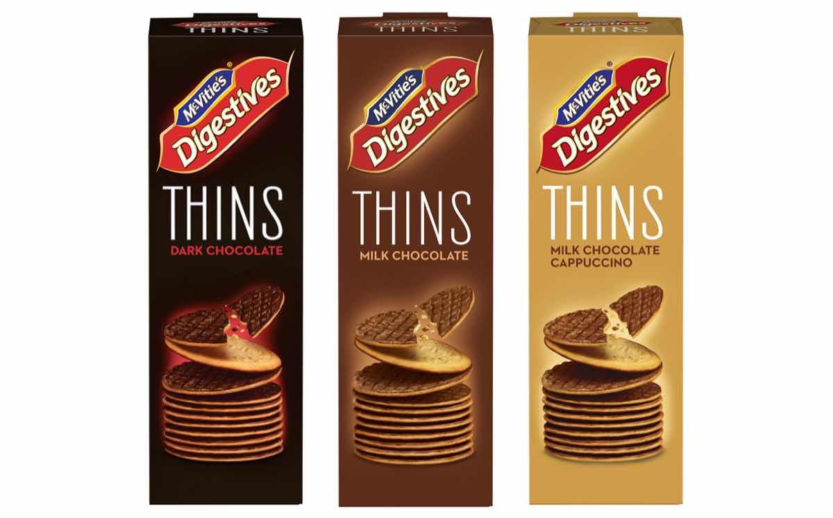 Mcvities Adds Thinner Healthier Version Of Its Digestive