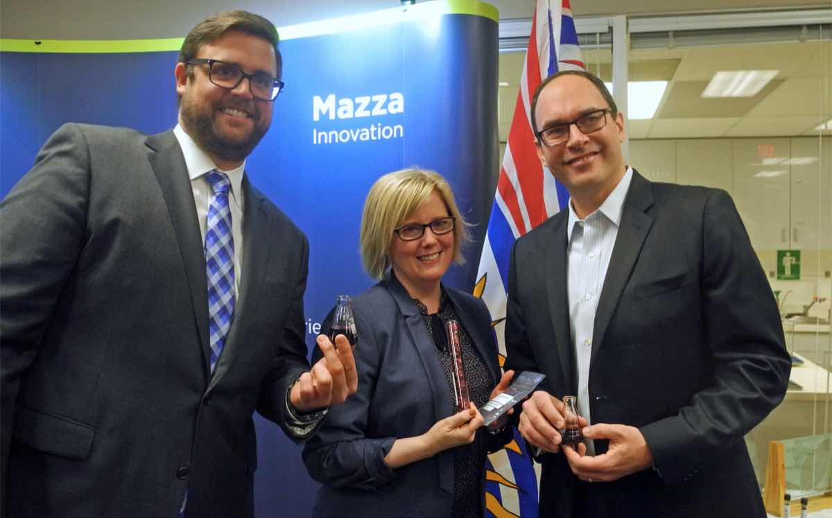 Canadian government invests $820,000 in Mazza Innovation