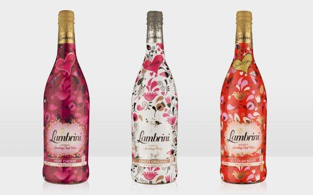 Lambrini unveils designs ahead of Valentine's and Mother's Day