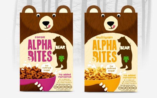 Bear Nibbles transforms look of Alphabites cereal with redesign