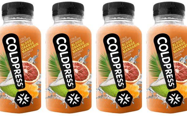Coldpress launches range of fruit-flavoured coconut waters