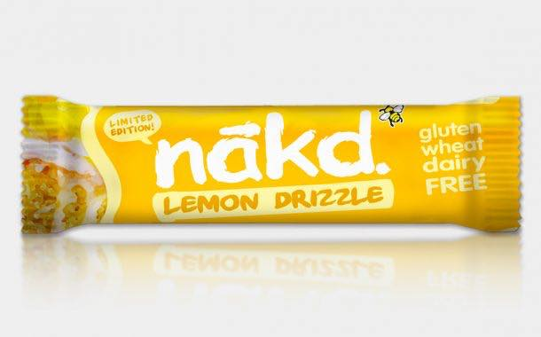 Nākd adds lemon drizzle snack bar to limited-edition collection