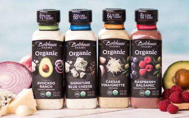 Bolthouse Farms adds range of lighter, organic salad dressings