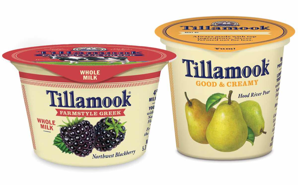 Tillamook unveils new line-up of whole milk Greek yogurts