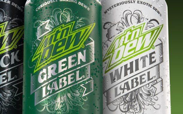 Mountain Dew adds to Black Label with two premium sodas
