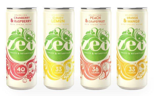 Soft drinks brand Zeo relaunches drinks free from added sugar