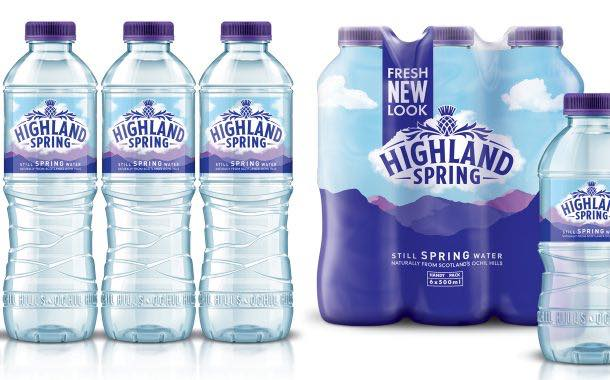 Highland Spring to welcome 'impactful' new look this month