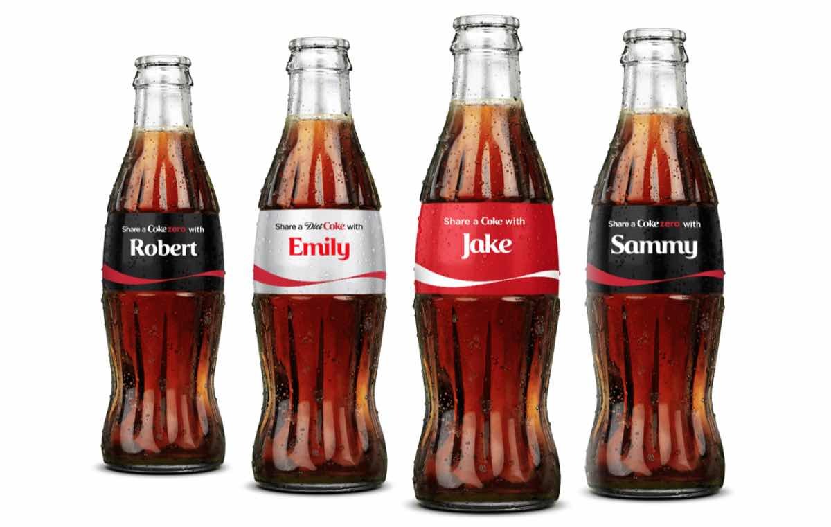Coca-Cola brings back Share a Coke campaign with more choice