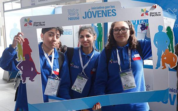 Nestlé will teach 17,000 young people about the world of work in Chile, Colombia, Mexico and Peru.