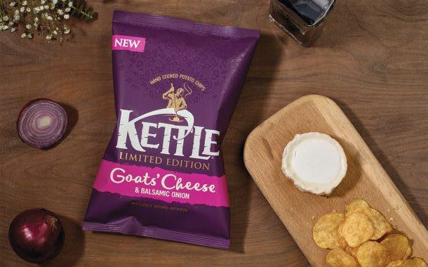 Kettle Chips to launch seasonal goat's cheese and onion flavour