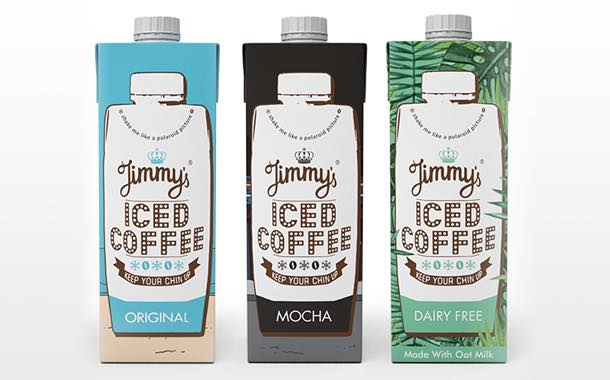 Iced coffee brand Jimmy's debuts first dairy-free flavour