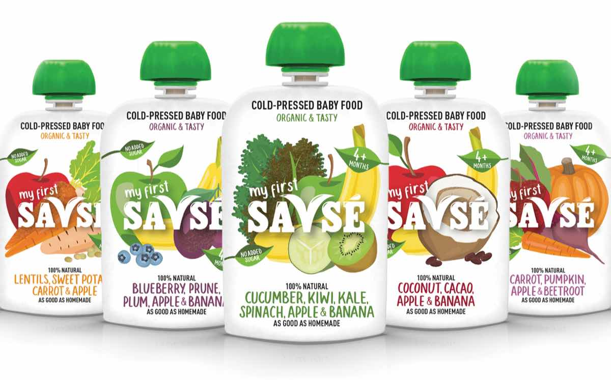 Uk Juice Brand Savs 233 Expands With Release Of Hpp Baby Food