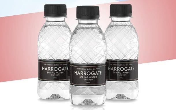 Harrogate Water introduces new bottle for travel retail market