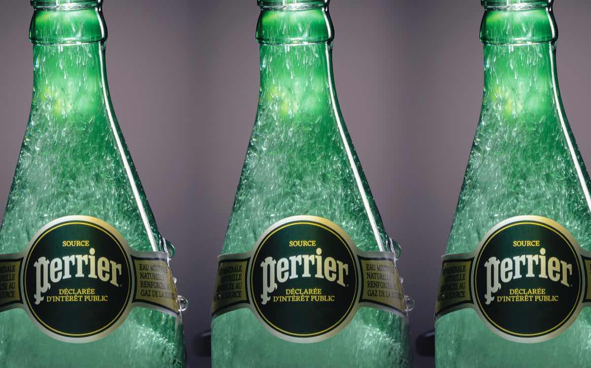 Perrier launches sustainable packaging programme