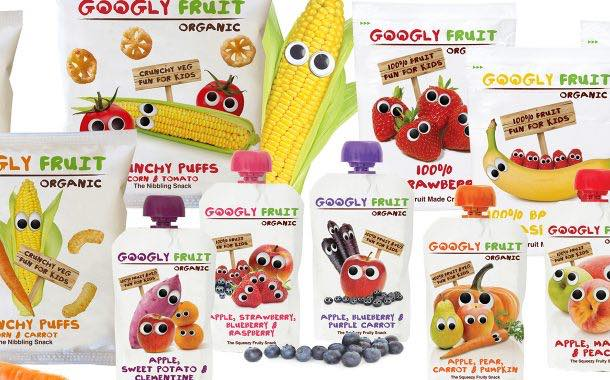 Googly Fruit hits the UK high street with organic snack range