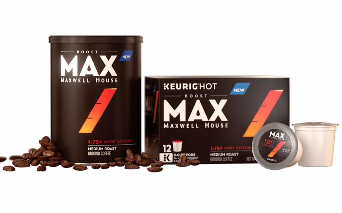 Maxwell House Coffee Line Lets Consumers Alter Caffeine