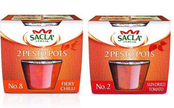 Sacla unveils new twin packs of Pesto Pots in the UK