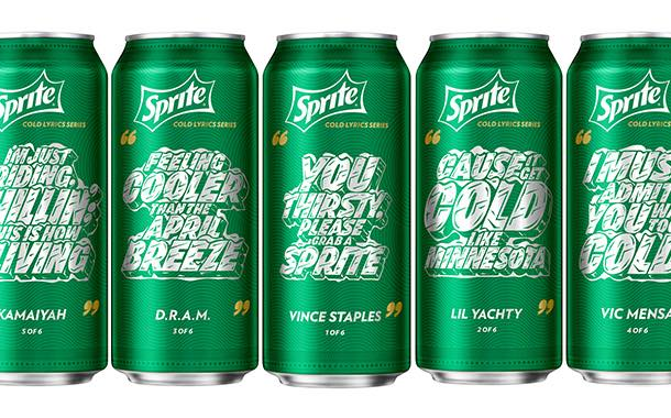 Sprite packaging gets hip-hop redesign for summer campaign