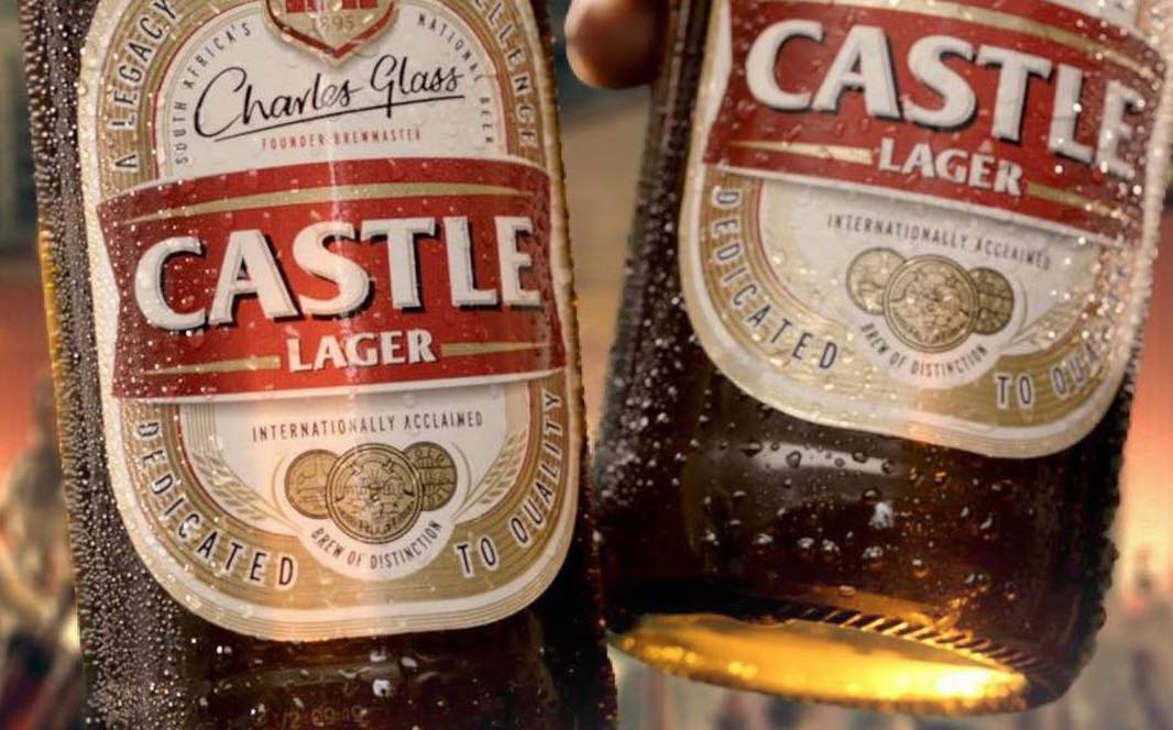 SAB's brands include Castle lager, dubbed South Africa's national beer.