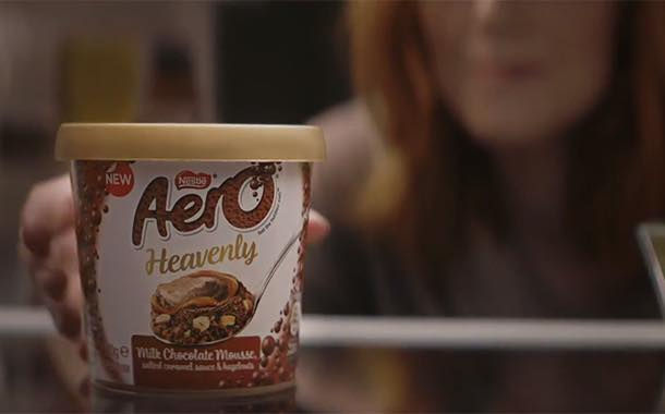 Aero Heavenly mousses make TV debut as part of campaign