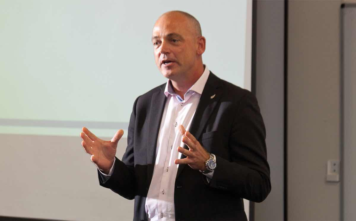 CEO Theo Spierings called the forecast 'prudent' but said Fonterra would continue to focus on driving growth.