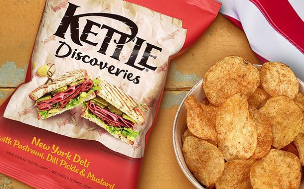 Kettle launches globally inspired Discoveries crisp selection