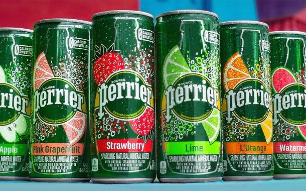 Perrier celebrates new sparkling water flavours with ad campaign